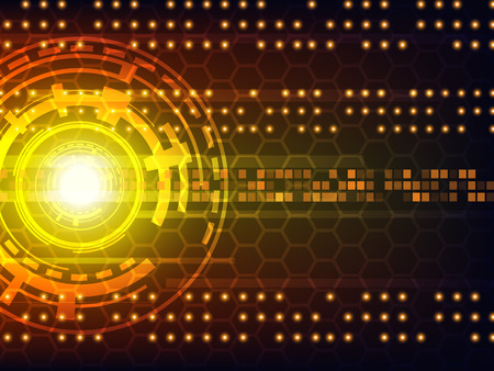 digital: Abstract futuristic digital technology background