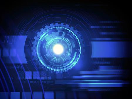 hi speed: abstract hi speed internet technology background illustration