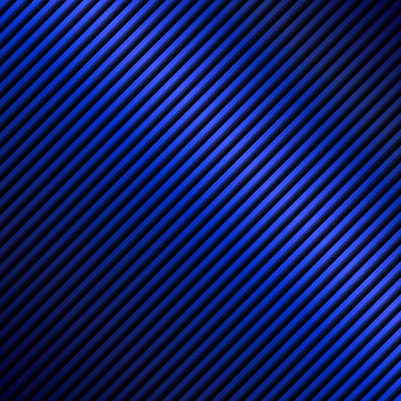 corrugated steel: Blue metal plate background. Illustration