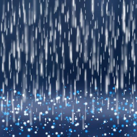 soak: Background with rain.