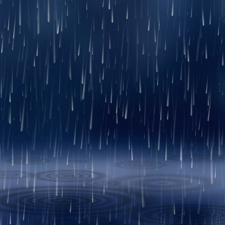 drench: Background with rain.