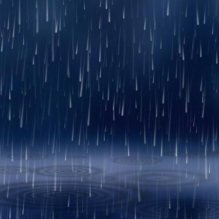 Fondo con lluvia.