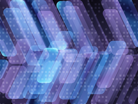 hitech: Dark blue hi-tech background  with overlapping strips. EPS0