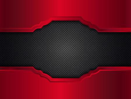 red metallic: Red metallic background. Illustration