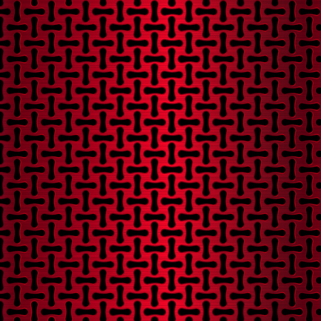 metal grid: Metal grid. Red Chrome. Metal background.
