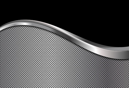 elegant backgrounds: Silver and black metallic background. Abstract vector illustration