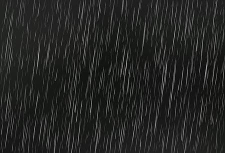 Rain on black. Vector rain texture. Abstract vector background. Vectores