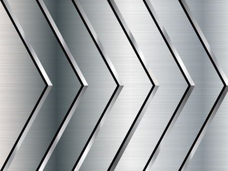 Metal texture background. Stainless steel. Vector illustration
