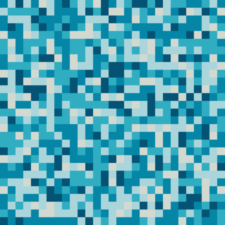 pixelate: Pixelate Effect. Geometric background with squares. Vector illustration