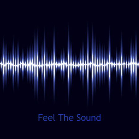 audio wave: Music background. Vector sound wave. Audio wave design. Vector illustration. Abstract technology background. Blue sound wave. EPS10