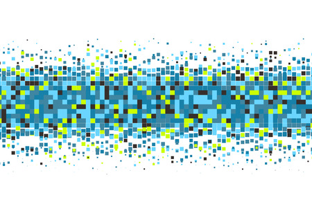 pixelate: Pixel background. Pixelate Effect. Geometric background with squares. Vector illustration