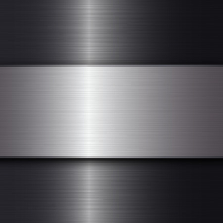 Metal texture background. Abstract vector background with space for text. 向量圖像