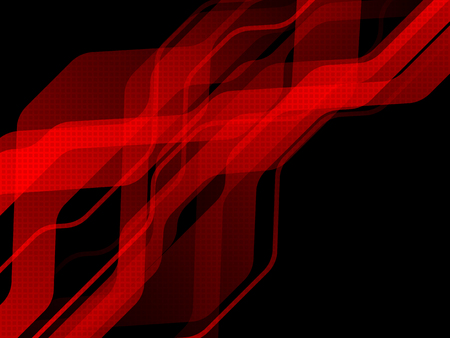 Technology hi-tech background with red stripes. Abstract vector illustration. EPS10 Illustration