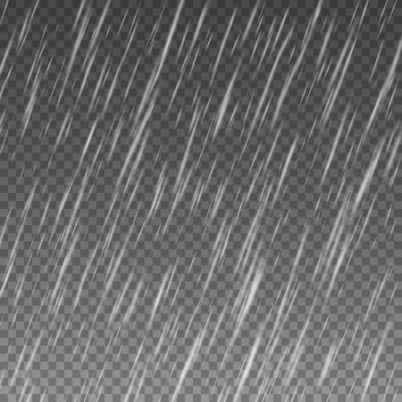 Rain Texture Background. rain isolated on transparent background. 일러스트