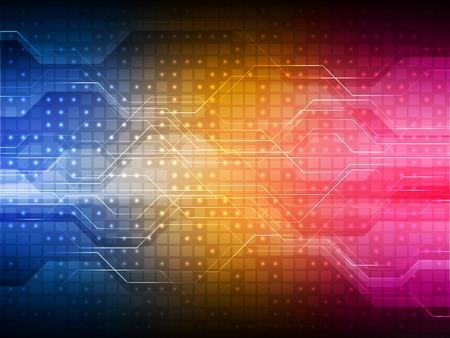digital background: Colorful digital technology background.
