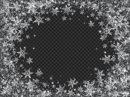 blizzards: Glittering Snow Blizzard Effect on Transparent Background.