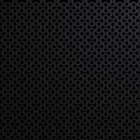 Black metal texture background. Abstract vector illustration. Illustration