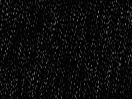 Rain texture on black. Abstract vector background EPS10