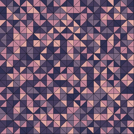 Seamless geometric pattern. Vector background with triangles EPS10 Иллюстрация