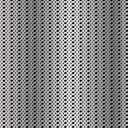 Metallic grid background, abstract vector illustration. Illustration