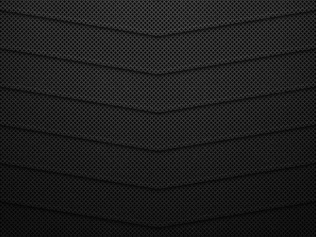 Black metal texture background. Abstract vector illustration EPS10