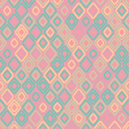 Seamless geometric pattern. Vector background with rhombuses. EPS10 Foto de archivo - 111801545