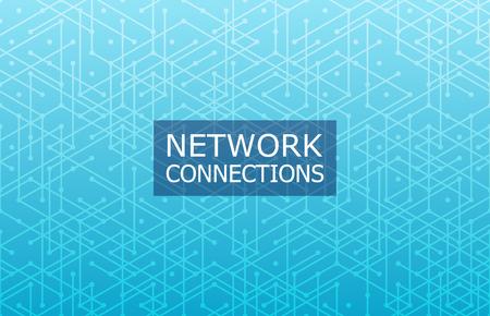Global network connection. Abstract technology background. Geometric pattern. Illusztráció