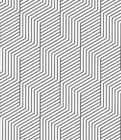 Patrón transparente de vector. Fondo geométrico con líneas. Ilustración de vector
