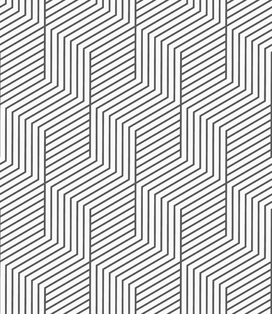 Vector seamless pattern. Geometric background with lines.