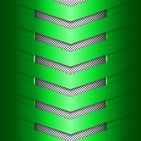 Green metal texture background. Abstract vector illustration