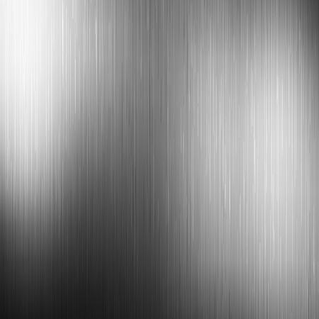 Polished steel texture. Metal background. Vector illustration EPS10