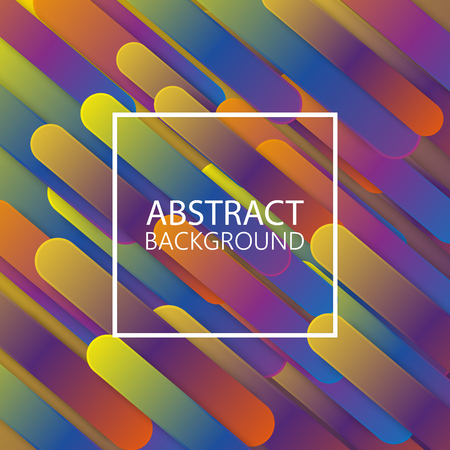 Colorful geometric background. Abstract vector illustration