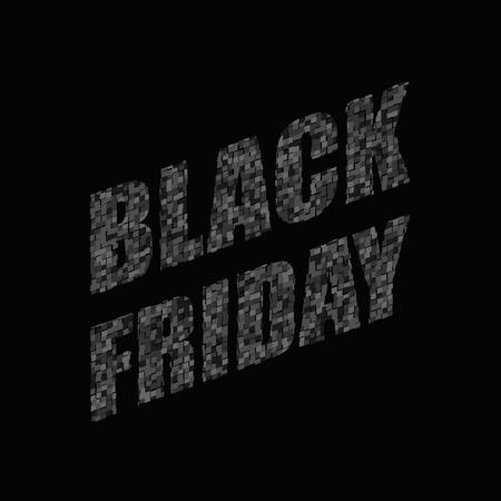Black Friday Sale Banner. Abstract Background illustration Illusztráció