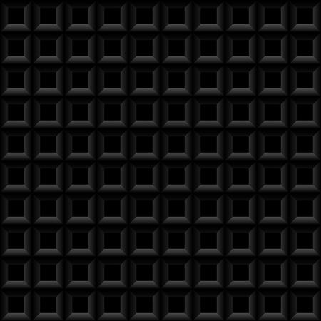 Black and white seamless geometric pattern.
