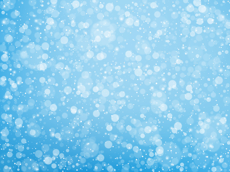 Falling snow. Christmas and New Year background. Vector illustration EPS10 Stock fotó - 127721142