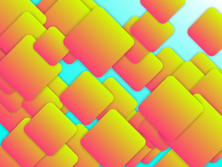 Colorful geometric background with squares. Abstract vector illustration EPS10 Illusztráció