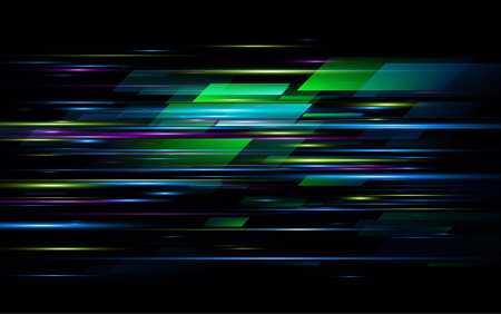 High speed. Hi-tech. Abstract technology background. Vector illustration EPS10 Ilustrace