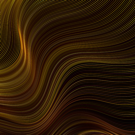 Geometric background with dynamic waves. Abstract vector illustration. EPS10 Ilustrace