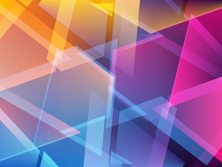 Abstract colorful triangle geometric background. Shards of broken glass. Vector illustration EPS10