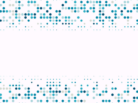 Halftone dots background. Geometrical pattern with circles. Vector illustration EPS10