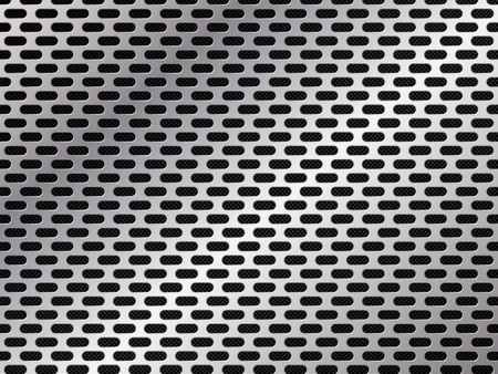 Metal grid background. Abstract vector illustration EPS10 Illusztráció