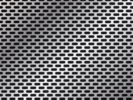 Metal grid background. Abstract vector illustration EPS10 Illustration