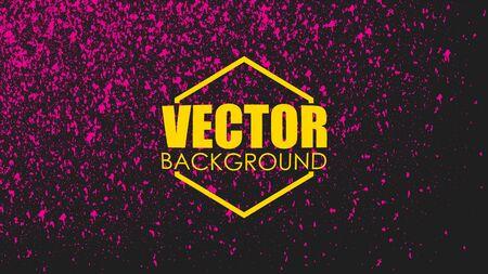 Paint splash texture. Vector colorful background.