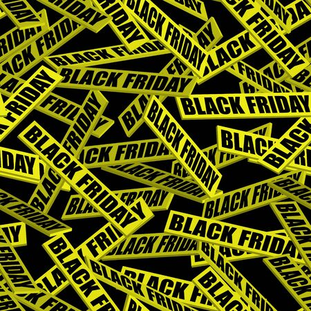 Black friday sale background. Seamless pattern. Abstract vector illustration.