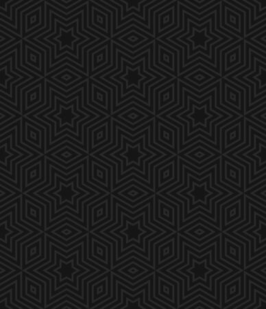 Black and gray seamless geometric pattern. Vector background EPS10