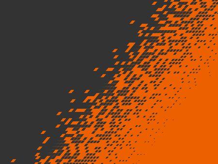 Pixel background. Pixelate Effect. Geometric background. Vector illustration. EPS10 Ilustracja