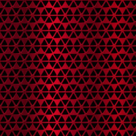 Red metal background. Vector geometric pattern