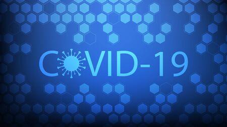 Coronavirus infection, covid-19 virus, Vector illustration