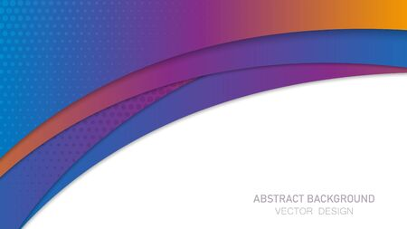 Abstract background with waves. Vector illustration EPS10