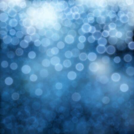Abstract blue bokeh effect background. Vector Illustration EPS10 Illusztráció
